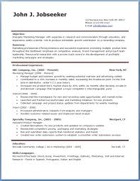 Free Cv Template Download Pdf Resume Example