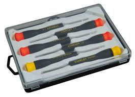 precision tools stanley. view larger 6 piece small precision screwdriver set tools stanley