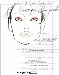 Mac Pfw Spring Summer 13 Daily Face Chart Reports Tuesday