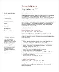 Teacher Cv Teacher Resumes 27 Free Word Pdf Documents Download Free