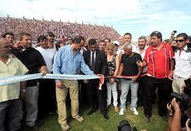 Resultado de imagen para inauguracion estadio chacarita