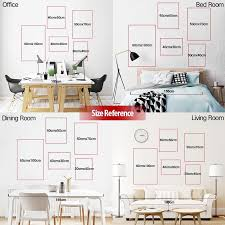 wall art size references on wall art sizes with wall art size references yolo