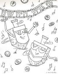 Free Coloring Pages For Hanukkah Bltidm