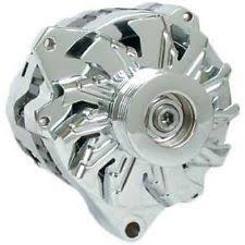 cs 130 alternator chrome powermaster street alternator 105 amps chrome plated 12v gm cs130 case 17861