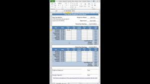 Free Simple Bi Weekly Time Card Calculator For Contractors From Fast