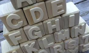 extra large wooden alphabet blocks image and picture