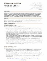 Accounts Payable Manager Resume Unique Accounts Payable Clerk Resume Samples QwikResume