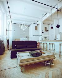 enchanting white studio apartment ifresh design coffee table tra