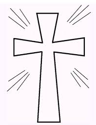 Printable Free Printable Cross Coloring Pages Free Coloring Book