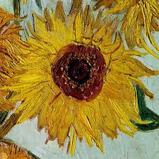 vincent van gogh pure 3d digital oil painting on canvas sunflowers painting modern home decoration art wall picture 30 40cm in painting calligraphy from