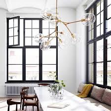 lindsey adelman globe branching bubble chandelier 110v220v nordic modern chandelier light lighting pendent lamp glass ball lamp contemporary chandelier