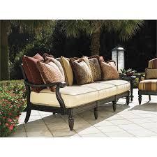 Tommy Bahama Kingstown Sedona Patio Sofa In Ebony Tommy Bahama Furniture Collection63