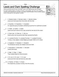lewis and clark printable worksheets and coloring pages   lewis and clark printable worksheets and coloring pages