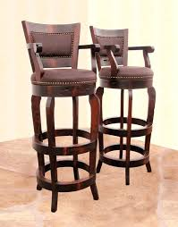 swivel counter stools with arms interior and home enchanting wood swivel bar stools with arms wooden