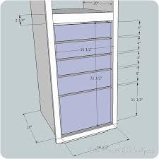 Linen Closet Design Plans Im Building Again Linen Cabinet