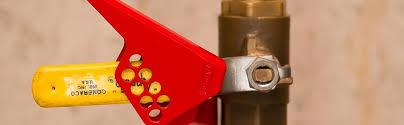 ball valve lockout. lockout safety supply steel small ball valve