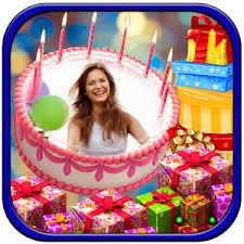 Download Birthday Cake Photo Frame Abc Birthday Cakes