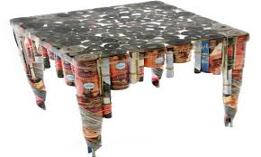 table recycled materials. Furniture Made With Recycled Materials Office Side Table, From Table A