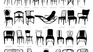 diffe types of chairs diffe furniture styles types of style delivered dining chairs chair and names