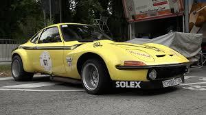 1972 Steinmetz Opel GT Group 4 Sound & Accelerations at Vernasca ...