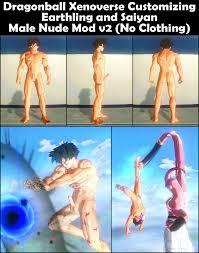 Dragon Ball Male Nude mod Erect Flaccid at Dragon Ball Xenoverse.