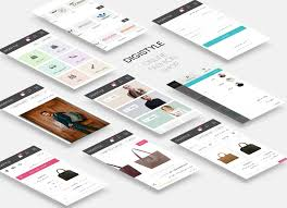 Digistyle Designs Online Shop Ui Uplabs