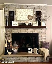 brick fireplace mantel decor brick fireplace designs brick fireplace mantel decor contemporary photo 1 of best brick fireplace mantel decor