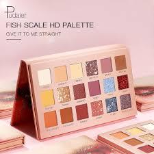 <b>Pudaier</b> 18 Color <b>Makeup</b> Pigmented <b>Eyeshadow</b> Palletes Colorful ...
