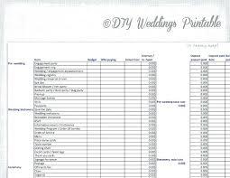 free wedding budget worksheet excel wedding budget spreadsheet event planning checklist template