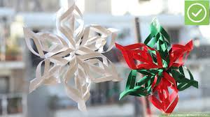How To Make A 3d Snowflake How To Make A 3d Paper Snowflake 12 Steps With Pictures