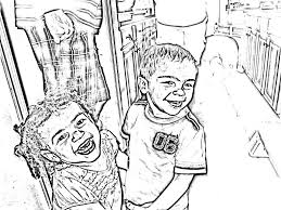 Small Picture Absolutely Ideas Make Photo Into Coloring Page 13 Turn Pictures