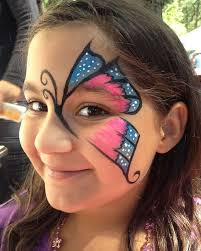 chicago face painting and photography chicago face painter valery lanotte erfly over eye