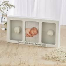 personalised baby casting kit photo frame