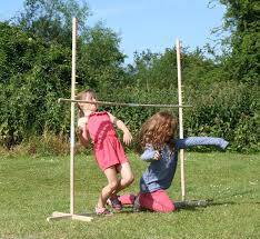 Wooden Limbo Game GARDEN LIMBO GAME OUTDOOR INDOOR WOODEN PARTY GAME 100100M TALL 28