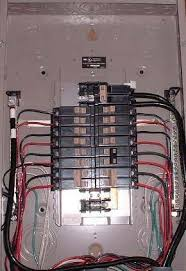 an overview of wiring an electrical circuit breaker panel electrical panel wired