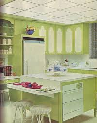 Green And White Kitchen Green And White Kitchen Ok Ive Been Keeping My 1970 Deco Flickr
