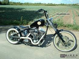 1958 harley davidson fl santee old school bobber electric