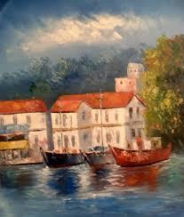 oil paintings from greece alexandra merianou corfu greece