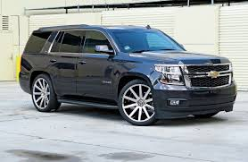 Lowering A Chevrolet Tahoe With Crown Suspension Inch