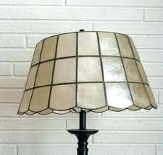 west elm capiz floor lamp seashell shades shell shade better lamps west elm west elm small west elm capiz