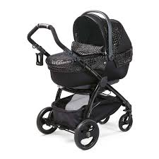 Designer Baby Stroller Young Versace Baby Black Stroller Travel Set 4 Piece