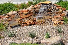 rock fountains for garden