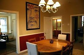 dining room chair rail paint ideas dining room with chair rail fabulous dining room paint ideas