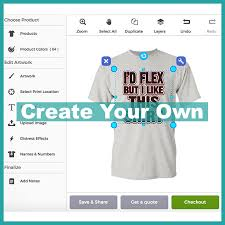 Make Your Shirt Elosh Clothing Design Your Own Or Choose From Our Premade