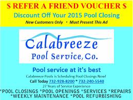 pool service ad. Referral Program Pool Service Ad