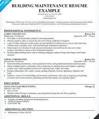 maintenance resume sample building maintenance resume sample building  aircraft maintenance engineer resume sample