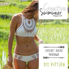 Free Crochet Bikini Pattern Interesting Decorating Design