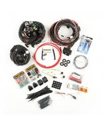 wiring harnesses electrical interior painless wiring harness 76 86 jeep cj models