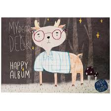 Альбом для <b>рисования Kroyter</b> Happy А4 30 листов - купить с ...