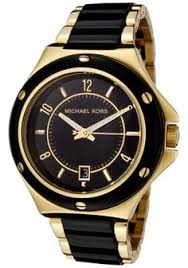 guess collection gc 4 executive chronograph black and rose gold mk black and gold watch